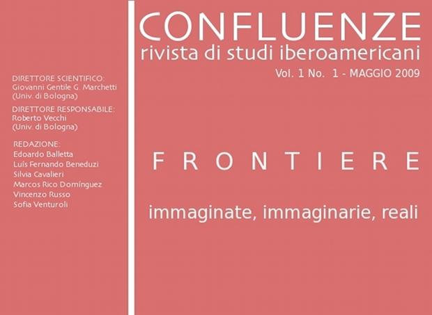 Visualizza V. 1 N. 1 (2009): Frontiere immaginate, immaginarie, reali.
