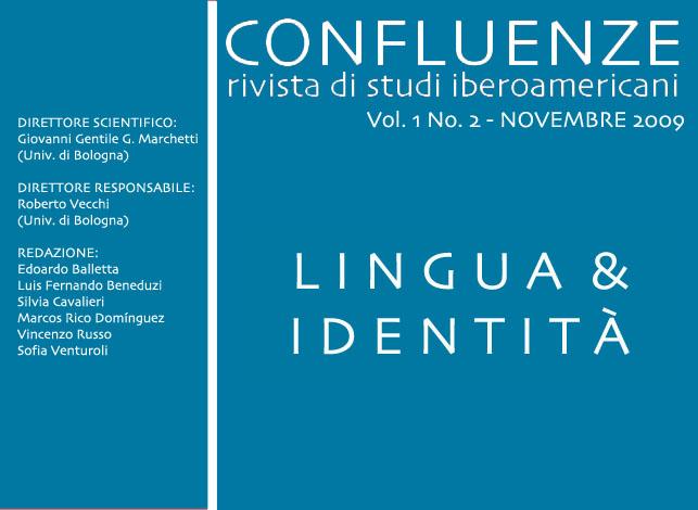 Visualizza V. 1 N. 2 (2009): Lingua e identità