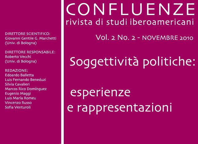 Visualizza V. 2 N. 2 (2010): Soggettività politiche: esperienze e rappresentazioni
